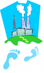 power station + carbon footprint